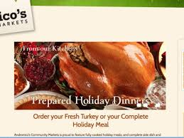 deadlines to order thanksgiving meals at cupertino markets
