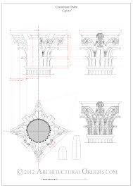 doric order capitals arch drawings u0026 prints pinterest
