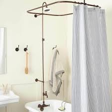 Clawfoot Tub Shower Curtain Liner Clawfoot Tub Shower Curtain Buying Guide All About Home Design