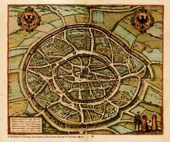 Tenochtitlan Map Braun Hogenberg I 12 B Jpg 2717 2264 Maps Pinterest