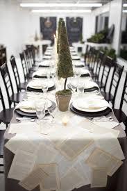 fresh ideas for christmas table settings paul michael company