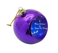 bulk memorial gifts tree baubles glass hanging
