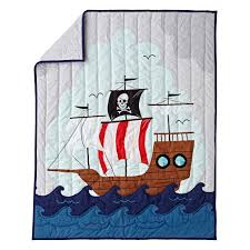 Deep Silo Builder Crib Pirate Quilt The Land Of Nod