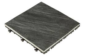 Interlocking Slate Patio Tiles by Kontiki Interlocking Deck Tiles Elements Earth Series Slate 12