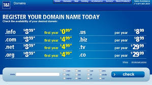 five best domain name registrars