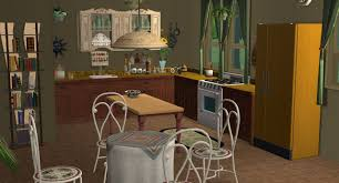 Golden Girls House Mod The Sims The Golden Girls House No Cc Vintage Month