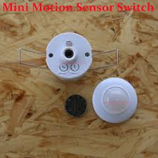 Ceiling Mounted Motion Sensor Light Switch Mini Ceiling Motion Sensor Switch Auto Pir Infrared Sensor Light