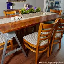 Dining Room Table Refinishing Barn Wood Table Refinishing 6 Steps With Pictures