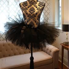 2017 mini trendy black short tutu skirt puffy big ball gown