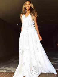 ciara wore another custom roberto cavalli gown to her rehearsal