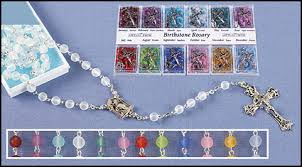birthstone rosary moonstone birthstone rosary display