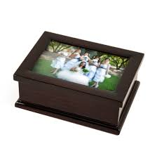 jewelry box photo frame sophisticated modern 4 x 6 photo frame musical jewelry box