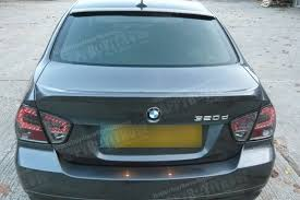bmw e90 painted oe typ abs trunk boot spoiler m3 m tech m sport