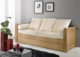 canapé lit gigogne acheter votre banquette lit gigogne couchage en 80x190 chez simeuble