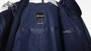 Berghaus Mens Cornice Jacket Berghaus Mens Rowden Jacket Dusk Www Simplyhike Co Uk Youtube