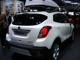 vauxhall mokka the vauxhall mokka with roof box great looking small suv http