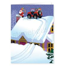 jeep christmas jeep christmas card stonehouse collection