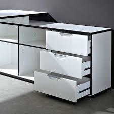 bureau d angle noir laqué bureau d angle noir laque bureau d angle design avec caisson area