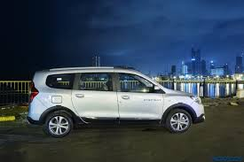 lodgy renault report renault lodgy stepway night drive experience and sunset