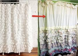 Frilly Shower Curtains 28 Frilly Shower Curtains Ruffle Shower Curtain Great Ideas