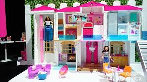 Big Barbie Dollhouse Tour Youtube by Barbie Moves Into Smart Dreamhouse News U0026 Opinion Pcmag Com