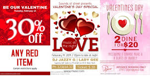 valentines specials customized flyers customized flyers for your valentines day