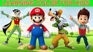Best Color For Kids Best Learning Video For Children Kids Learning Color For Kids
