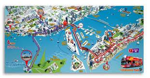 Miami Dade Wolfson Campus Map by Miami Map Karten Miami Florida Usa
