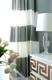 Black And White Stripe Curtains Horizontal Striped Curtains Black And White Striped Curtains