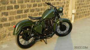sepoy vintage military finish bullet by mc bc studio 350cc com