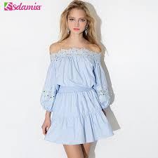 summer dresses on sale hot sale summer dress kawaii shoulder tunic women dresses big
