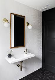 white black bathroom ideas sherman samuel bath renovation progress sherman