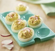 deviled egg tray potato salad deviled eggs fresh tupperware