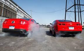 car and driver mustang vs camaro jeopardy a confrontation that never seems to get