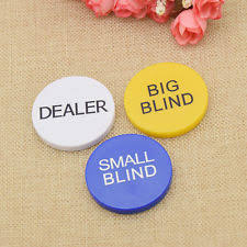 Big Blind Small Blind Dealer Button Casino Collectables Ebay