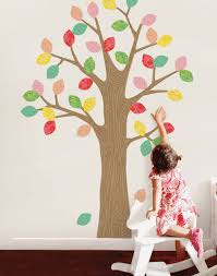 patterned tree with leaves wall sticker pattern tree with leaves wall sticker
