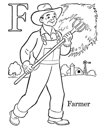 Farm Girl Coloring Page Kids Drawing And Coloring Pages Marisa Farm Color Page
