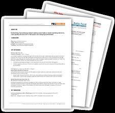 free resume templates free downloads free marketing resume templates 10 sles for download