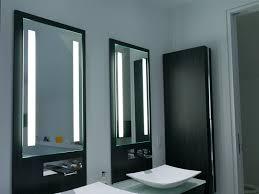 Bathroom Lights Mirror Lighted Bathroom Mirrors Modern Home Design