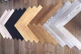 multi color oak herringbone hardwood flooring