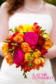 bright pink yellow u0026 orange wedding decorations don u0027t like the