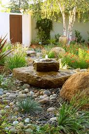 rocks in garden design 50 easy creek landscaping ideas you can make
