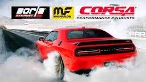 hellcat challenger 2017 these are the seven best exhaust systems for the dodge challenger