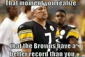Steelers Meme - browns and steelers record meme