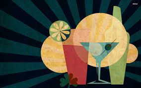 martini olive art cocktails digital art glass lime lemon martini cocktail olive