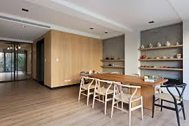 small dining room design come with unique maple wood japanese