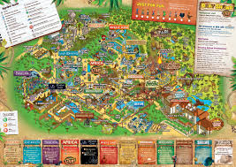 Map Of Animal Kingdom Theme Park Maps Easy Image Gallery Hcpr
