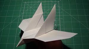 How Do You Make A Paper Boomerang - tutorial bird boomerang paper airplane