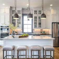 Decorating A Kitchen Island Kitchen Island Decorating Ideas Wooden Vent With Farmhouse