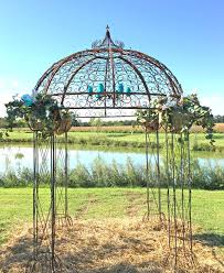wedding arbor kits gazebo design outstanding metal gazebo metal gazebo